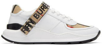 Burberry Beige Check Ronnie Sneakers