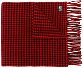 Ami Alexandre Mattiussi houndstooth scarf