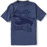 Class Club Little Boys 2T-7 Short-Sleeve Lobster Graphic Tee