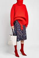 Balenciaga Printed Pleated Skirt