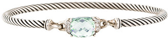 David Yurman Wheaton Bracelet (Prasiolite and Diamonds)