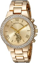 U.S. Polo Assn. Women's Gold-Tone Analog-Quartz Watch with Alloy Strap 8 (Model: USC40032AZ)