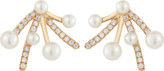 Dana Rebecca Designs Pearl Ivy Firework Earrings
