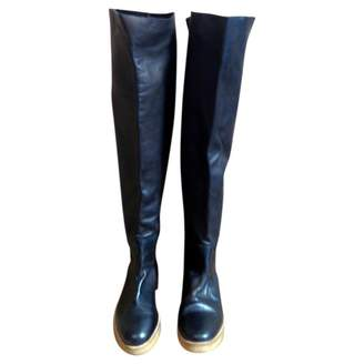 Surface to Air Black Leather Boots