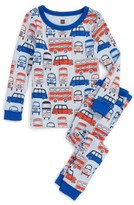 Tea Collection Toddler Boy's Waverley Station Fitted Two-Piece Pajamas