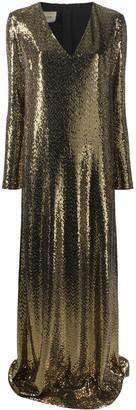 Gucci Chainmail Long Dress