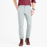 J.Crew Brushed cotton melange twill pant in 770 fit