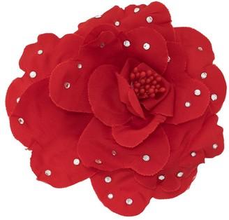 Philosophy di Lorenzo Serafini Embellished Flower Broach