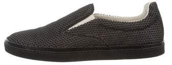 Maison Margiela Round-Toe Slip-On Sneakers