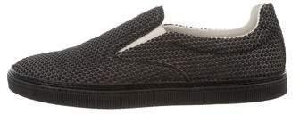 Maison Margiela Round-Toe Slip-On Sneakers