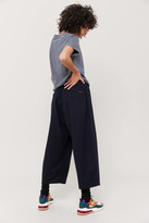Gramicci Wool Belted Wide Leg Pant