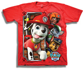 Freeze Red PAW Patrol Marshall Tee - Boys