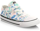 Converse Baby's & Little Kid's Chuck Taylor All Star Shark-Print Sneakers