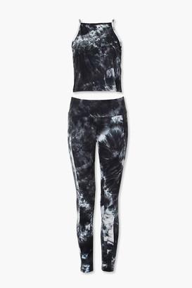 Forever 21 Tie-Dye Cami Leggings Set