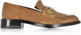 Pierre Hardy Hardy Dandy Penny Camel & Bronze Leather Loafer