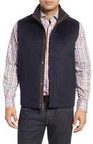 Peter Millar Men's Greenwich Wool & Cashmere Quilted Vest