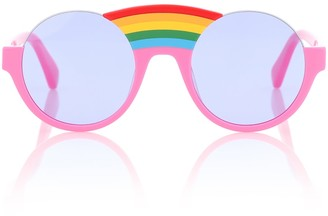 Stella Mccartney Kids Rainbow round sunglasses