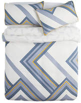 Kas Mackie Blue Euro Pillowcase