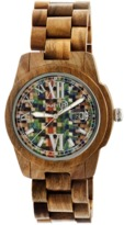 Earth Wood Heartwood Bracelet Watch.