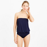 J.Crew Jersey Lomellina® blouson one-piece swimsuit