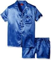 Bottoms Out Women's Classic Satin Short Pajama Set