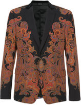 Alexander McQueen patterned suit jacket