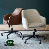 west elm Helvetica Upholstered Office Chair