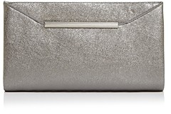 Aqua Bar Metallic Clutch - 100% Exclusive
