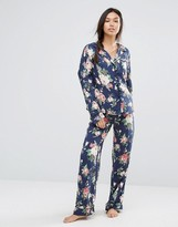 Wildfox Couture Rose Floral Pajama Set