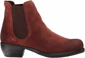 Fly London MAKE Women's Chelsea Boots Brown (Brick 029) 7 UK (40 EU)