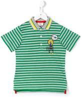 Fendi striped polo shirt