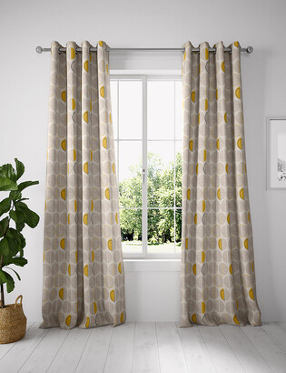 Marks and Spencer Layla Circles Eyelet Curtains