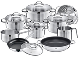 Achat Stainless Steel Cookware Set (14 PC)