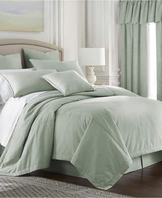 Colcha Linens Cambric Seafoam Duvet Cover-King/California King Bedding