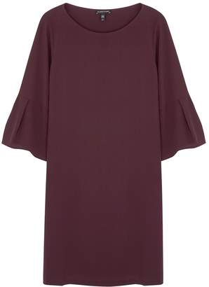Eileen Fisher Plum Silk Georgette Dress