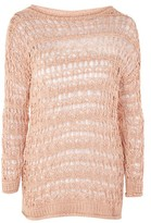 Topshop Knitted Stitchy Jumper