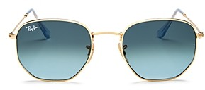 Ray-Ban Unisex Icons Hexagonal Sunglasses, 54mm