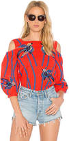 Tanya Taylor Elien Top in Red. - size 0 (also in 2,4)
