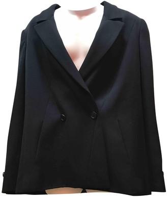 Chanel Navy Wool Jackets