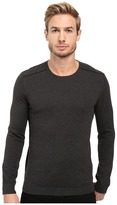 John Varvatos Long Sleeve Crew Neck Sweater w/ Contrast Piping Y1329S3B