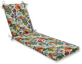 Bay Isle Home Indoor/Outdoor Chaise Lounge Cushion Fabric: Red