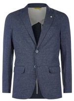 Canali Chambray Double Button Jacket