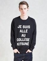MAISON KITSUNÉ Je Suis Alle Sweatshirt