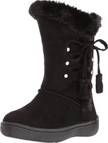 Western Chief Kids' Girls' Plush Fashon Microfiber Bootie Pull-on Boot