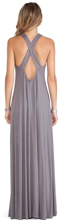 Tularosa Grey Maxi Dress