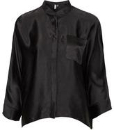 Premium Silk Boxy Shirt