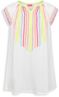 Little Girl's & Girl's Embroidered Tunic