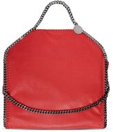 Stella McCartney cherry falabella shaggy deer fold over tote