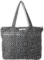 Ju-Ju-Be Super Be Zippered Tote Diaper Bag (Platinum Petals) - Bags and Luggage