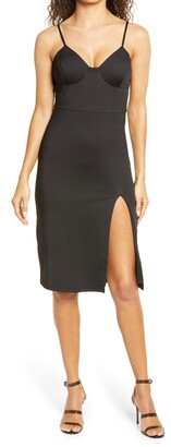 Bebe Body-Con Cocktail Dress